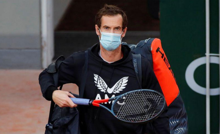 Andy Murray , positive , COVID-19
